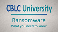 Ransomware: What you need to know